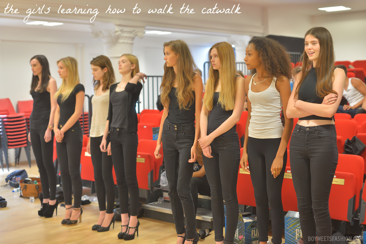 Become A Model London Elite London #elitemodellook '� The Models Learn All  About The Catwalk