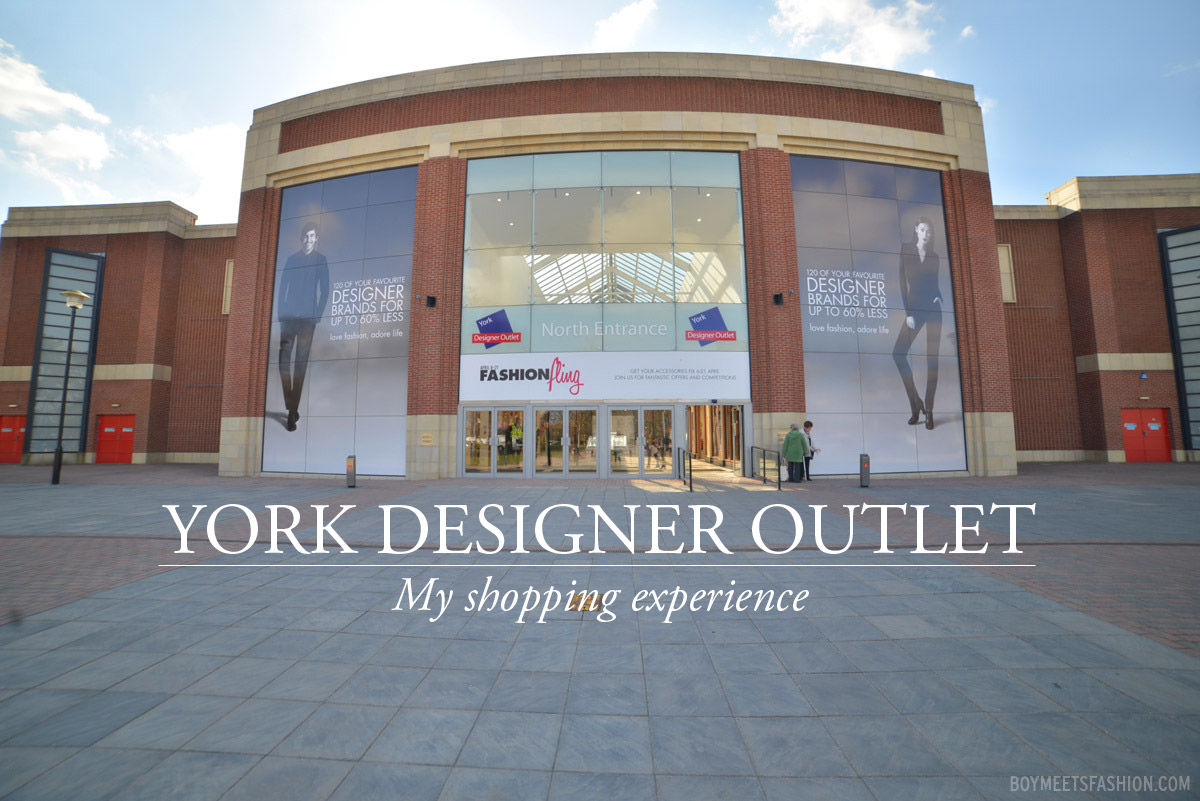My visit to the mcarthurglen designer outlet in york for for Designer wohnaccessoires outlet