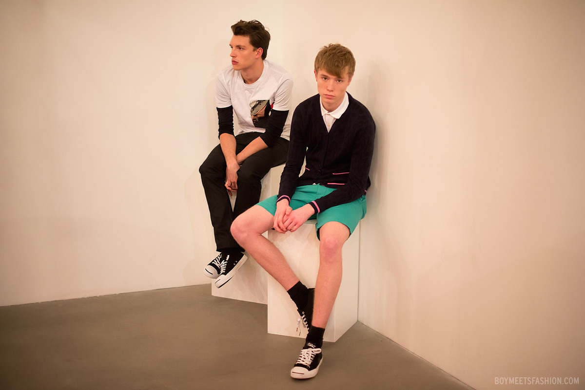 The mr porter presentation at london collections men aw13 for Mister porter