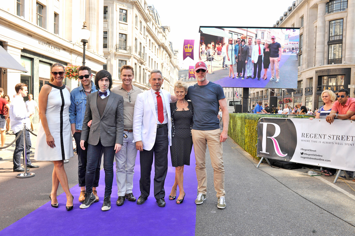 Photos from Regent Street's catwalk – where I was one of the judges