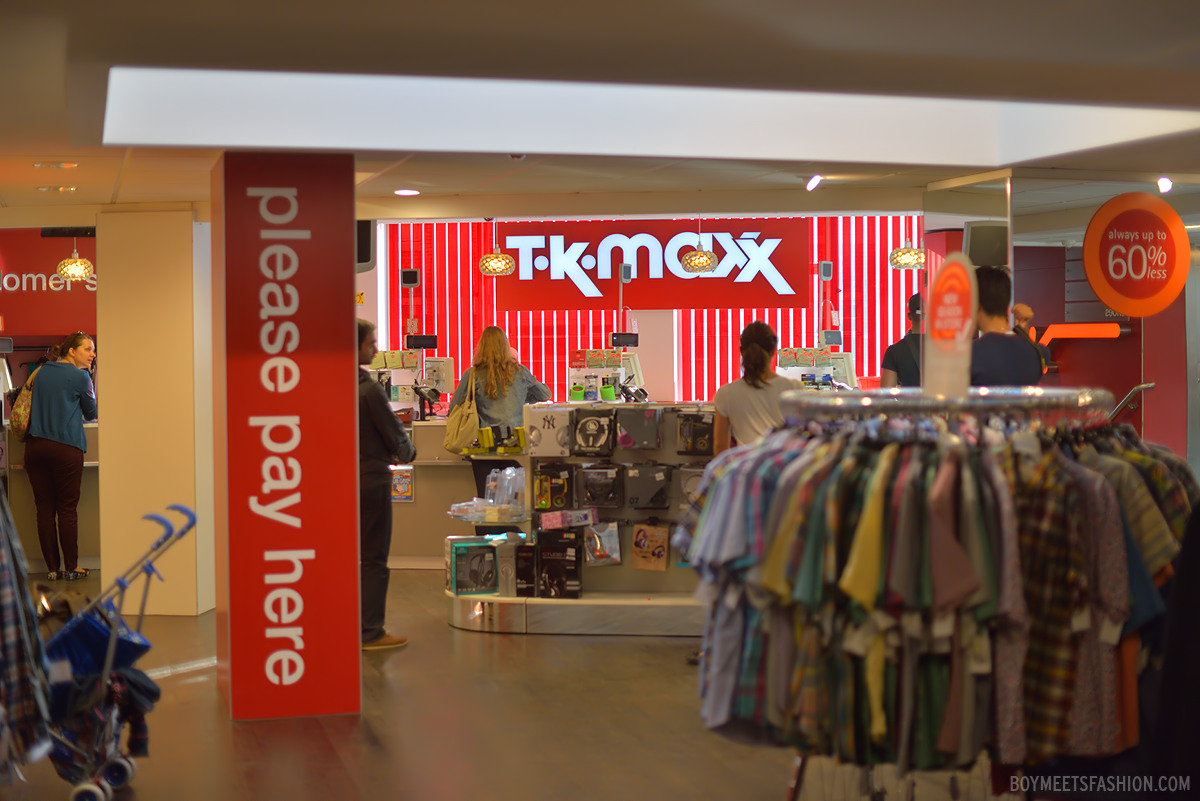 Maxx clothes store