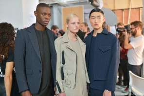 Behind the scenes at Matthew Miller AW14 – London Collections: Men