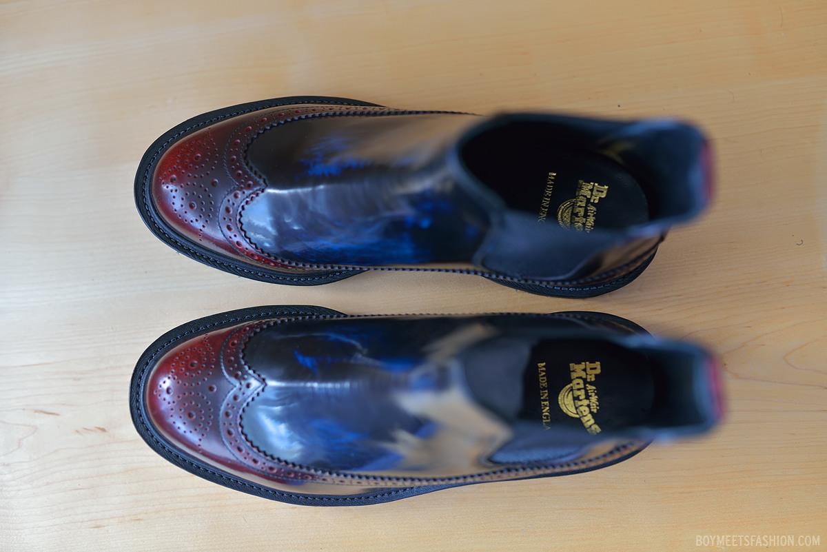 dr Martens Brogues Boots dr Martens Barack Brogue Boots