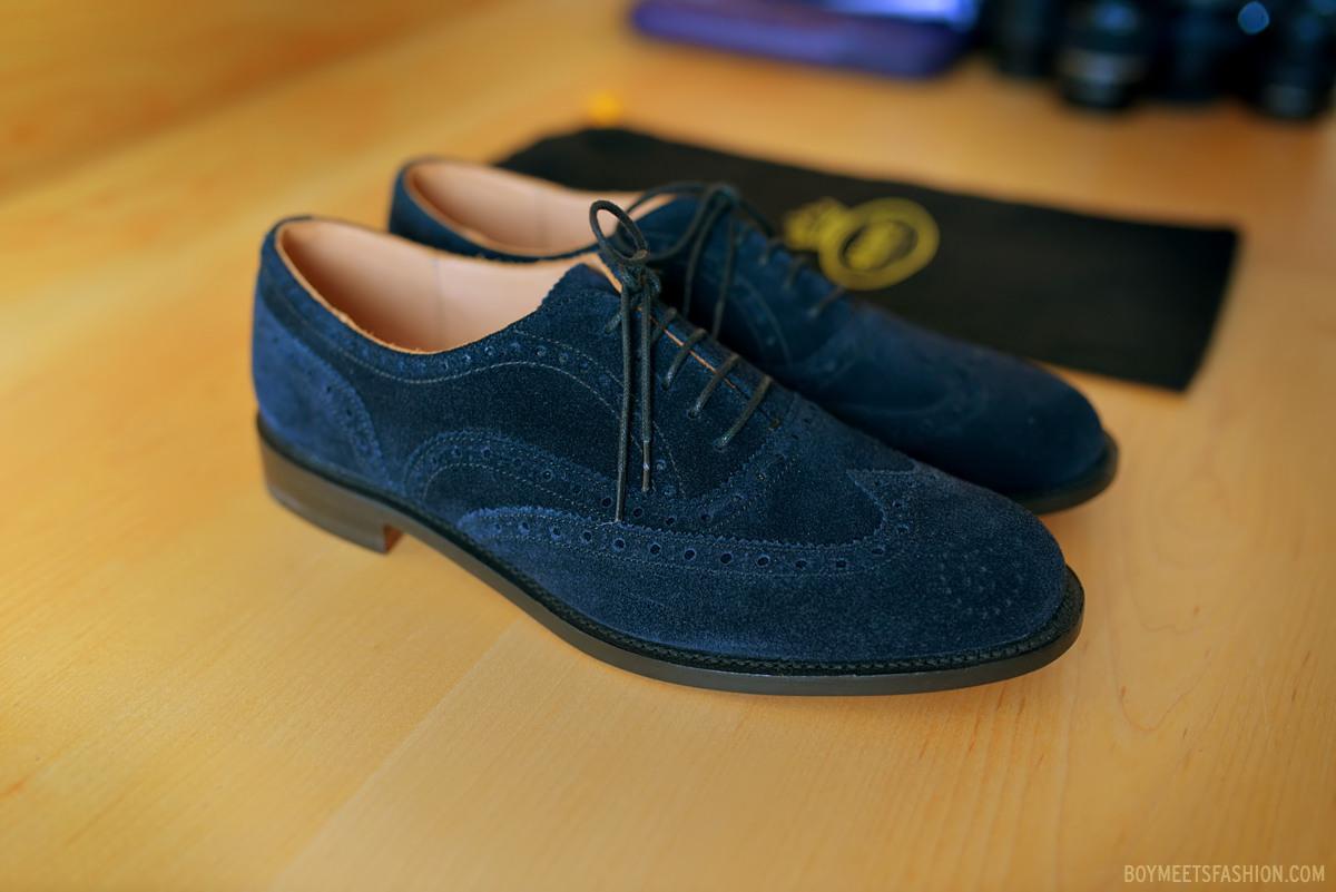 A new men's luxury shoe brand arrives