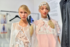 London Fashion Week SS15: Bora Aksu backstage
