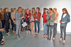 London Fashion Week SS15: Catwalk rehearsal (Part one)
