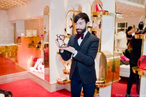 Christian Louboutin Valentine's Capsule Collection party