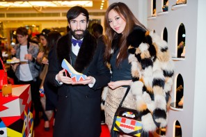 Christian Louboutin launch party for the Tribalou Collection