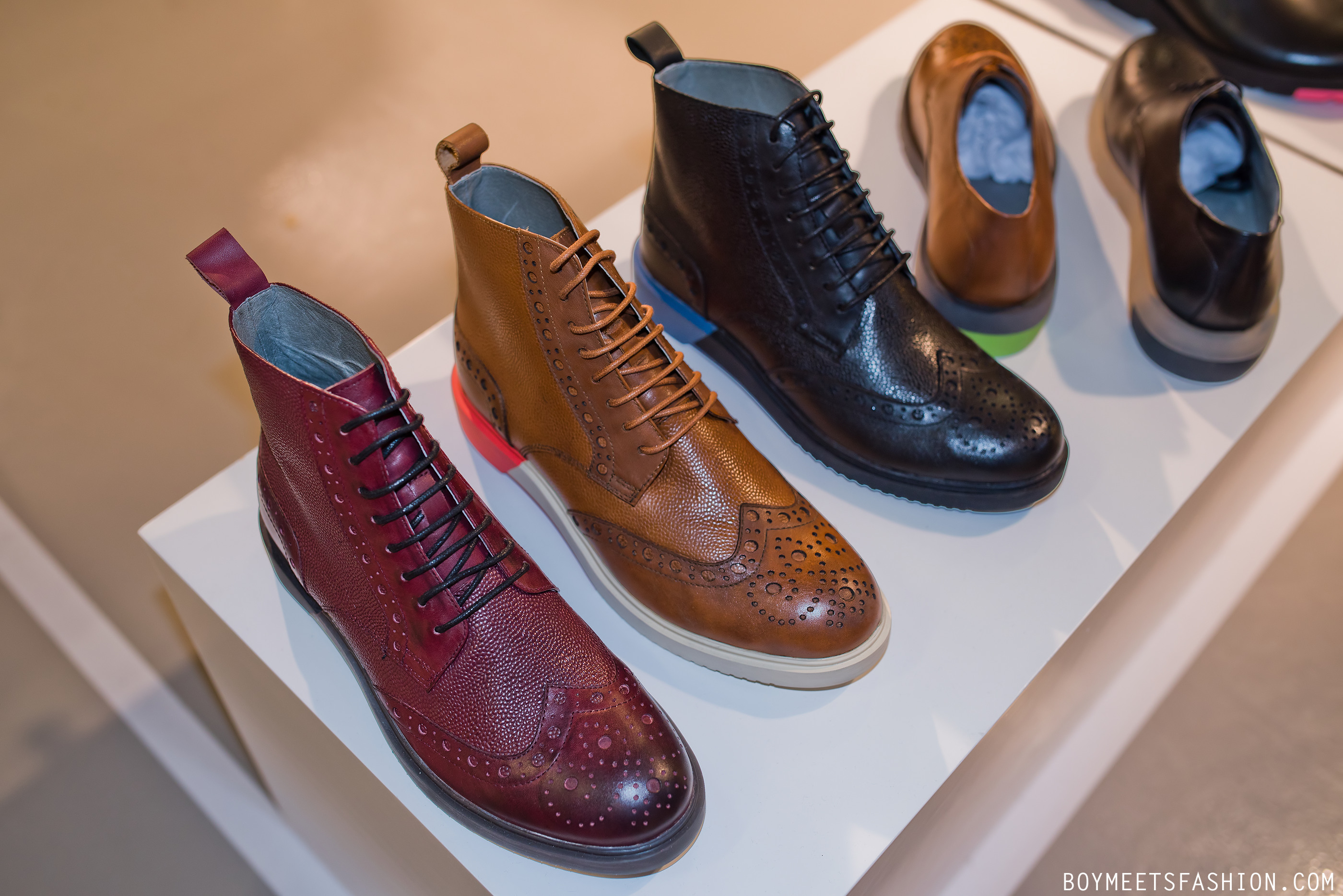 Anthony Miles Footwear: SS15 Collection