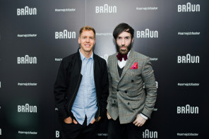 An unforgettable day with Braun and Sebastian Vettel