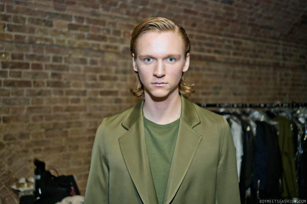 Matthew Miller AW18  Behind The Scenes at London Fashion Week Men s ... 8bfba574cbe
