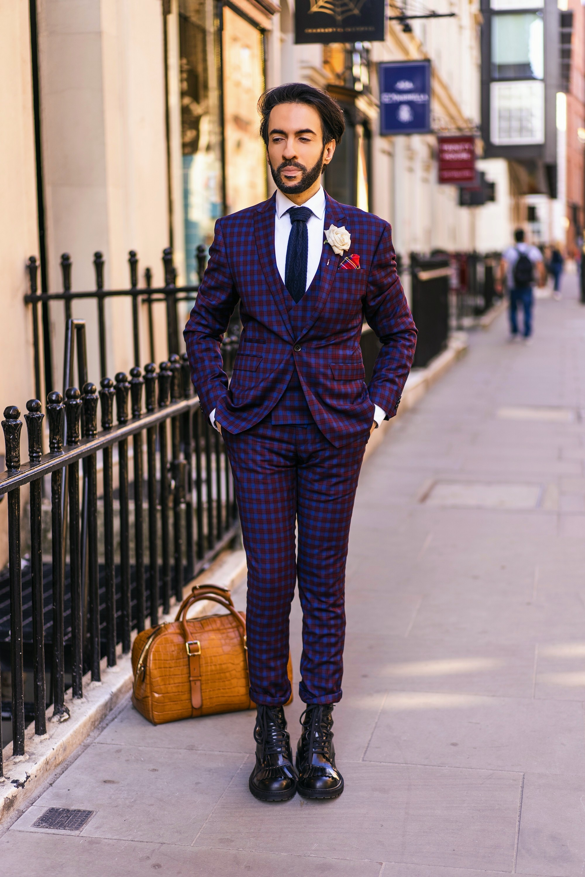 084bab0c83 Another wonderful side to wearing a suit is that it needn t be formal. You  can easily dress it down by wearing a t-shirt instead of shirt and  replacing your ...